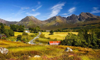 Красивая фотография пейзажа