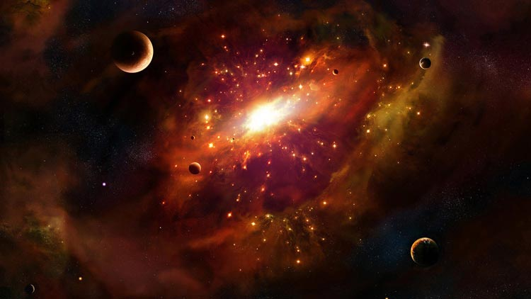 яркий космос картинки