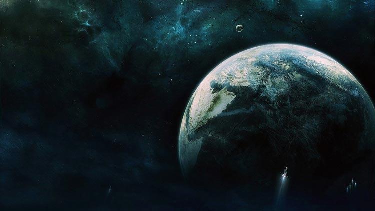 фантастическая космическая картинка