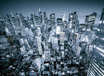 Величественный мегаполис поражающий