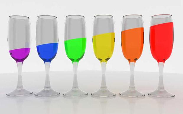 разноцветные смайлики: