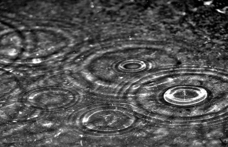 Как сделать капли дождя на окне вшоп