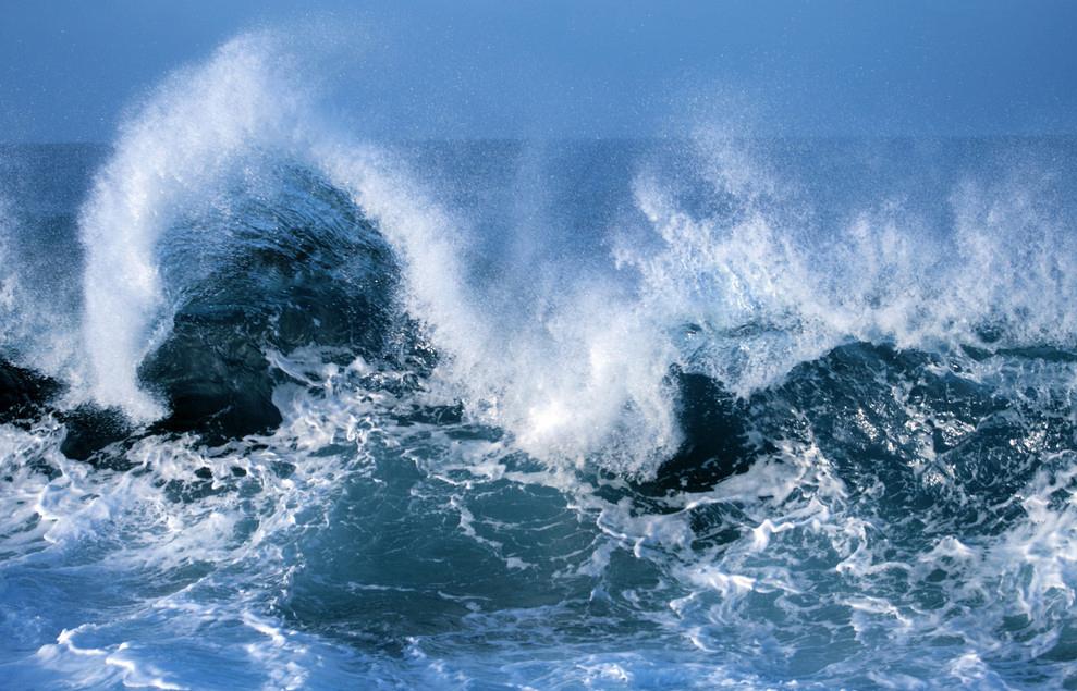 звуки волны из лодки