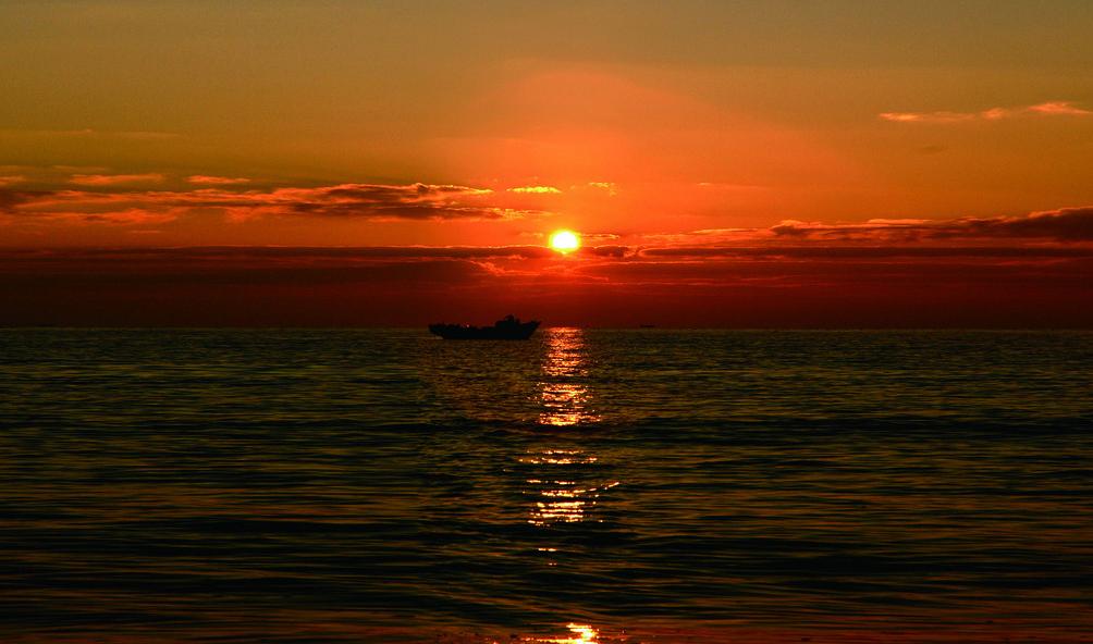 фото закаты и природа