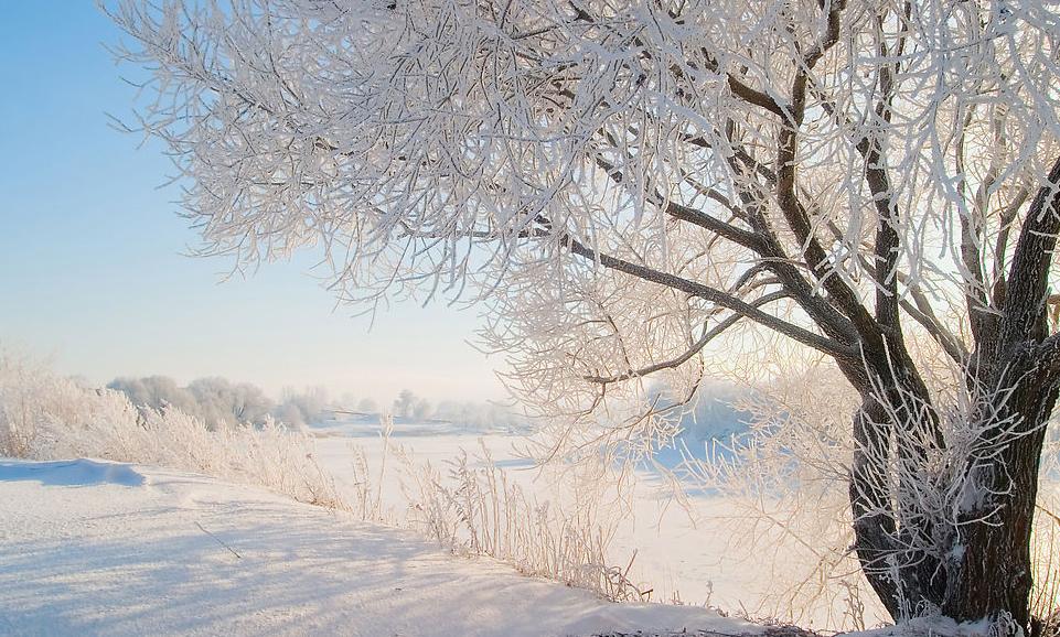 Картинки зима снег с анимацией
